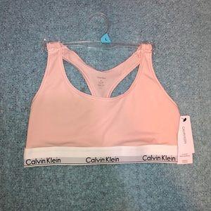 Calvin Klein modern cotton unlined sans doublure